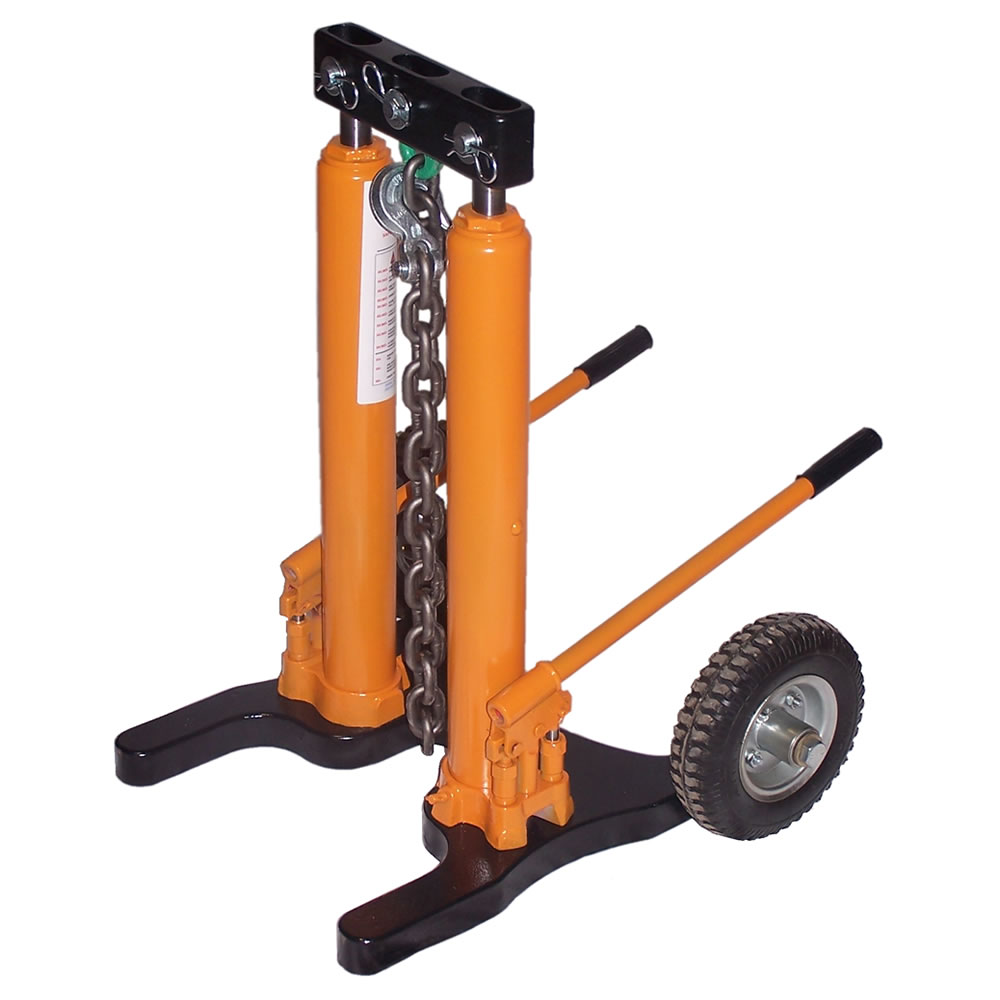 Hydraulic sign post puller : Post puller fence stake hydraulic